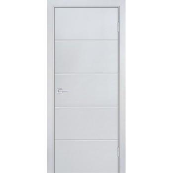 Дверь Смальта-Лайн 03 Светло серый RAL 9018  Эмаль глухое