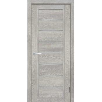 Дверь ТЕХНО-808 Чиаро гриджио  nanotex белый сатинат со стеклом