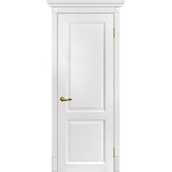 Дверь Тоскана-1 Пломбир  nanotex глухое