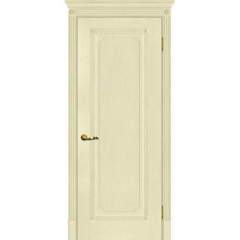Дверь Флоренция-1 Ваниль  Экошпон глухое
