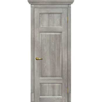 Дверь Тоскана-3 Чиаро гриджио  nanotex глухое