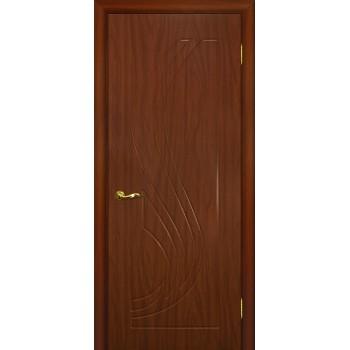 Дверь Трио Итальянский орех  PVC глухое