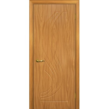 Дверь Трио Миланский орех  PVC глухое