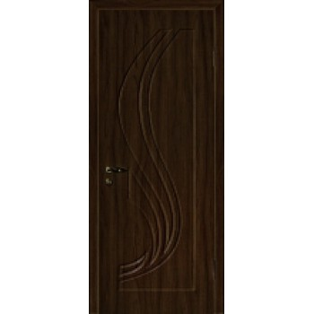 Дверь Трио Венге (Эбен)  PVC глухое