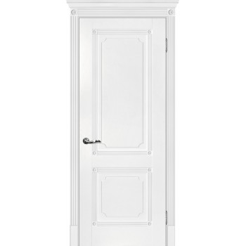 Дверь Флоренция-2 Белый  Экошпон глухое