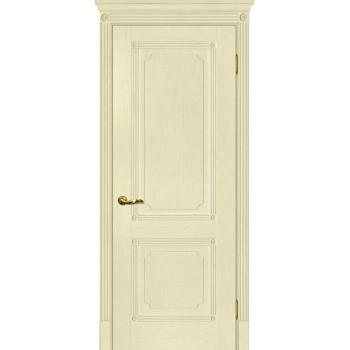 Дверь Флоренция-2 Ваниль  Экошпон глухое
