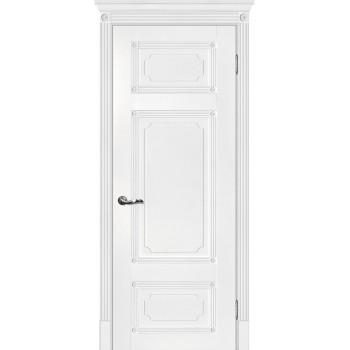 Дверь Флоренция-3 Белый  Экошпон глухое