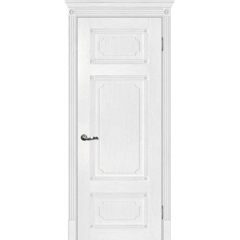 Дверь Флоренция-3 Пломбир  Экошпон глухое