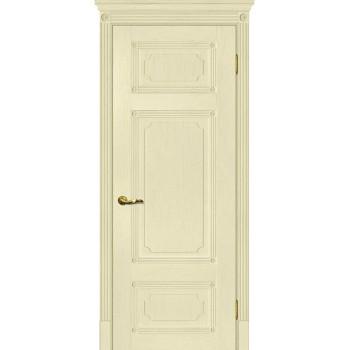 Дверь Флоренция-3 Ваниль  Экошпон глухое
