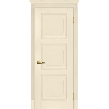 Дверь Флоренция-4 Магнолия  Экошпон глухое