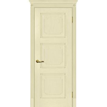 Дверь Флоренция-4 Ваниль  Экошпон глухое