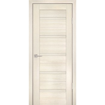 Дверь PS-07 ЭшВайт Мелинга  Экошпон глухое