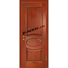 Дверь Алекс Красное дерево  Шпон Глухое глухое (Товар № ZA 12652)