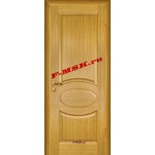Дверь Алекс Светлый дуб  Шпон Глухое глухое (Товар № ZA 12653)