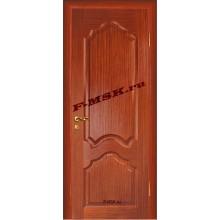 Дверь Кардинал Красное дерево  Шпон Глухое глухое (Товар № ZA 12664)