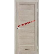 Дверь ТЕХНО-608 Капучино  3D покрытие Белое сатинато со стеклом (Товар № ZA 12677)