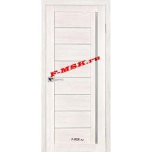 Дверь ТЕХНО-641 ЭшВайт  3D покрытие Белое сатинато со стеклом (Товар № ZA 12683)