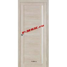 Дверь ТЕХНО-641 Капучино  3D покрытие Белое сатинато со стеклом (Товар № ZA 12682)