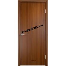 Дверь ДПГ четверть 2014 в комплекте Лесной орех  Финиш-пленка Глухое глухое (Товар № ZA 12696)