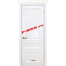 Дверь Смальта 06 Белый ral 9003  Эмаль глухое (Товар № ZA 13351)