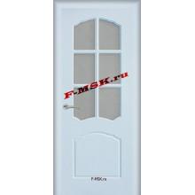 Дверь Лидия Белый  ПВХ Бронза рифленное со стеклом (Товар № ZA 13478)