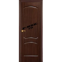 Дверь Лидия Венге (Эбен)  ПВХ Глухое глухое (Товар № ZA 13476)