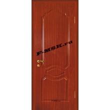 Дверь Венеция Итальянский орех  ПВХ Глухое глухое (Товар № ZA 14366)