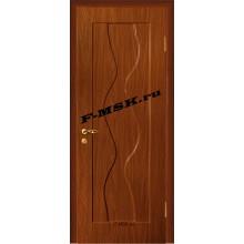 Дверь Вираж Итальянский орех  ПВХ Глухое глухое (Товар № ZA 14391)