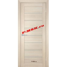 Дверь ТЕХНО-708 Капучино  ПВХ Белое сатинато со стеклом (Товар № ZA 14414)