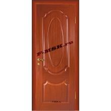 Дверь Ариана Красное дерево  Шпон Глухое глухое (Товар № ZA 14447)