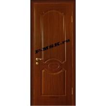 Дверь Милано Темный орех  Шпон Глухое глухое (Товар № ZA 14457)