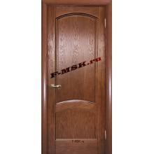 Дверь Вайт 01 Дуб  Шпон глухое (Товар № ZA 14498)
