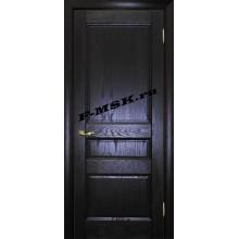 Дверь Вайт 02 Дуб патинированный  Шпон глухое (Товар № ZA 14502)