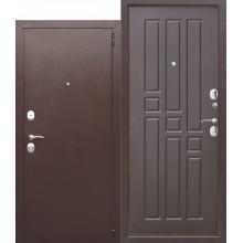 Входная металлическая дверь Гарда 8мм Венге  открывание наружу, левая размер 96/205