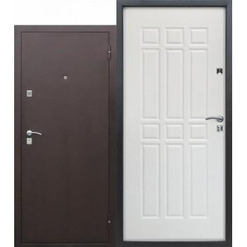 Входная металлическая дверь Сопрано Дуб молочный (Товар № ZF104432)