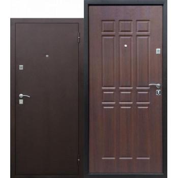 Входная металлическая дверь Сопрано Дуб шоколадный (Товар № ZF104433)