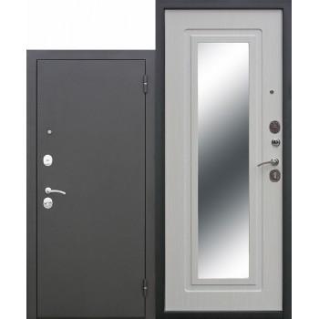 Входная металлическая дверь Царское зеркало муар Белый ясень (Товар № ZF104376)