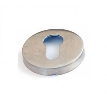 Накладки под цилиндр ET01 INOX нержавеющая сталь (Товар № ZF190923)
