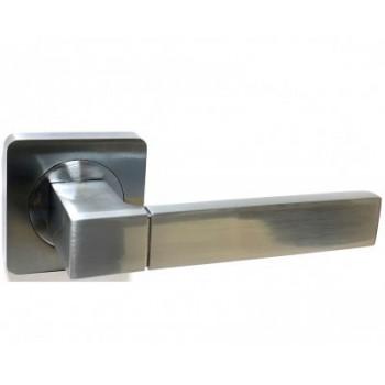 Дверная ручка V07L AL матовый хром