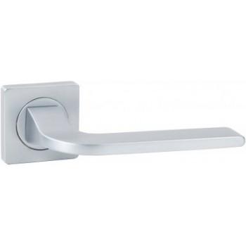 Дверная ручка V55L-2 AL матовый хром