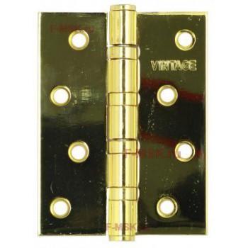 Петля универсальная 4BB-PB 100*75*2,5 золото (Товар №  ZA11673)