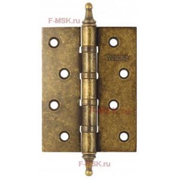 Петля универсальная B4K-BR 100*75*3 состаренная бронза (Товар №  ZA11687)