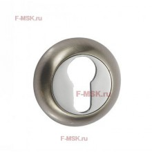 Накладки под цилиндр ETD матовый никель (Товар №  ZA11703)