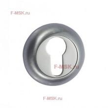 Накладки под цилиндр ETL матовый хром (Товар №  ZA11704)
