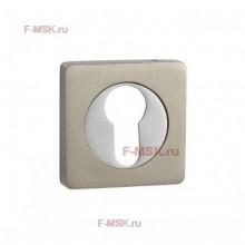 Накладки под цилиндр ET02D матовый никель (Товар №  ZA11710)