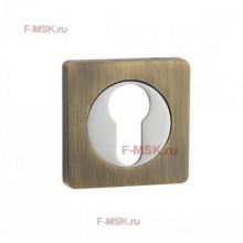Накладки под цилиндр ET02Q бронза (Товар №  ZA11713)