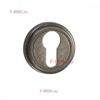 Накладки под цилиндр ET03AS состаренное серебро (Товар №  ZA11715)