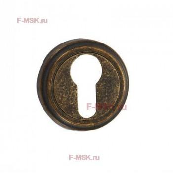 Накладки под цилиндр ET03BR состаренная бронза (Товар №  ZA11714)
