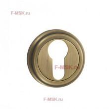 Накладки под цилиндр ET03M матовая бронза (Товар №  ZA11718)