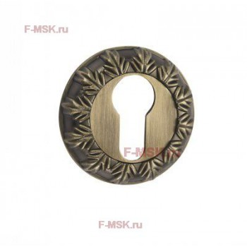 Накладки под цилиндр ET10M матовая бронза (Товар №  ZA11721)